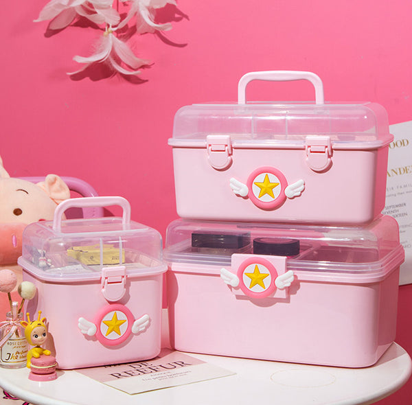 Cartoon Sakura Storage Box PN2678