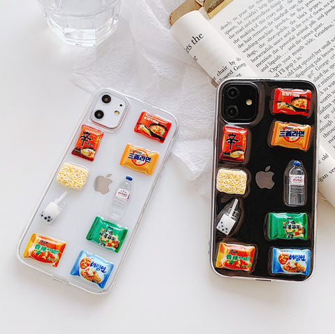 Kawaii Snacks Phone Case for iphone 6/6s/6plus/6splus/7/7plus/8/8plus/X/XS/XS Max/11/11pro/11pro Max PN2083