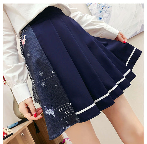 Fashion Girls Pleated Skirt PN1602