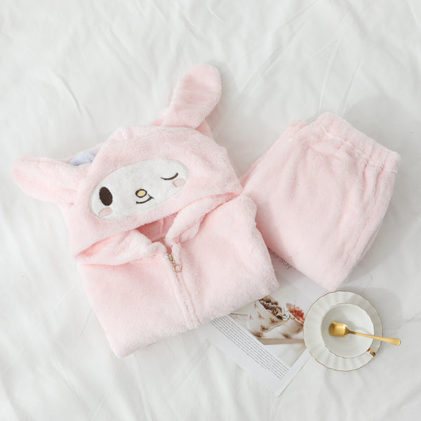 Kawaii My melody Winter Pajamas Suits Set PN1956