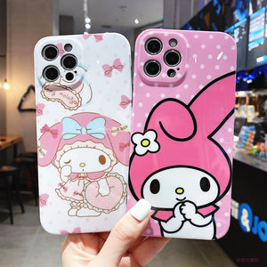 Cute Anime Phone Case for iphone 7/7plus/8/8P/X/XS/XR/XS Max/11/11pro/11pro max/12/12max/12pro/12pro max PN3500