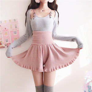Fashion Belt Skirt and Top PN1031