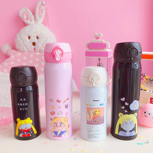 Kawaii Sailormoon Usagi Vacuum Cups PN0646