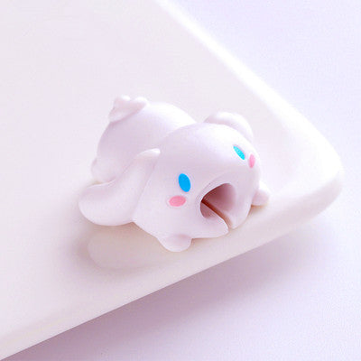 Kawaii Melody And Little Twinstar Charging Cable Cover For Iphone PN0600