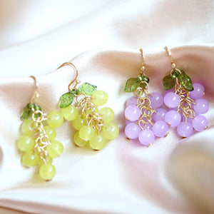 New Style Grapes Earrings/Clips PN3169