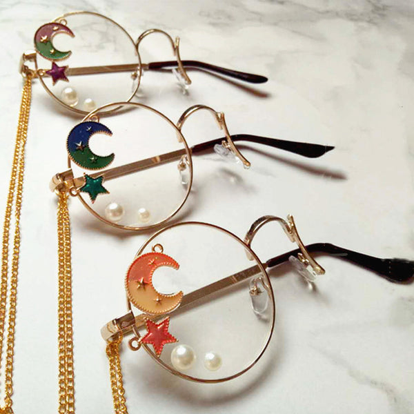 Lolita Moon One-sided Glasses PN2089