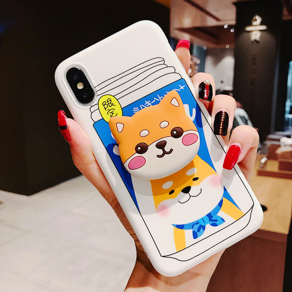 Lovely Dog Phone Case for iphone 6/6s/6plus/7/7plus/8/8P/X/XS/XR/XS Max PN0851