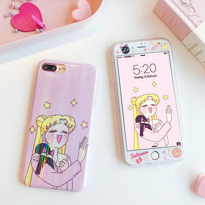 Sailormoon Heart Eyes Phone Case for iphone 6/6s/6plus/7/7plus/8/8p/X/XS/XR/XS Max PN0538