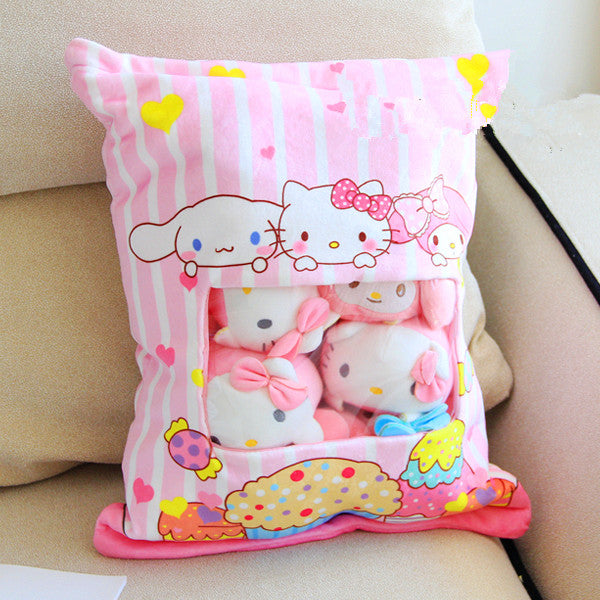 Kawaii My Melody And Cinnamoroll Dolls PN0440