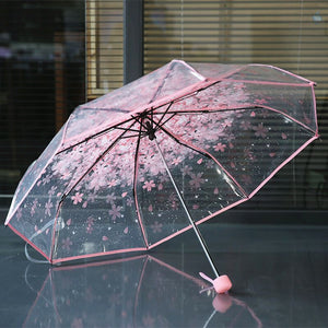 Fashion Sakura Folding Umbrella PN3423