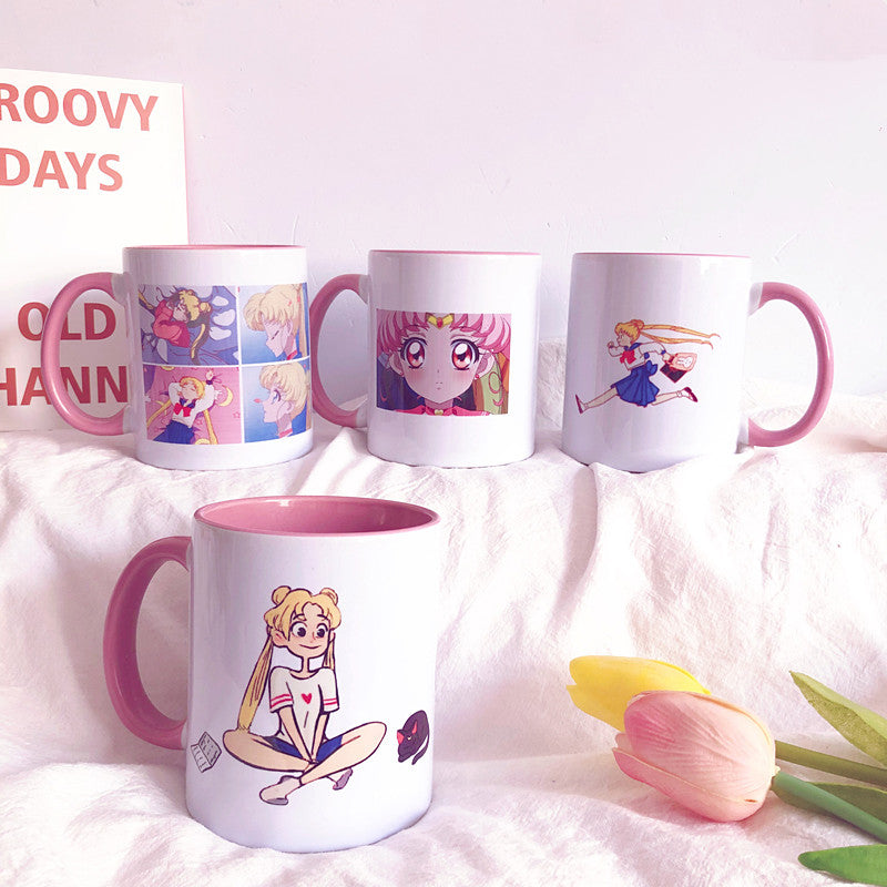 Cute Sailormoon Mug Cups PN1930