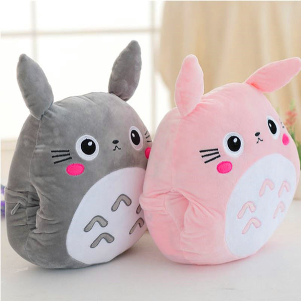 Cute Totoro Pillow And Blanket PN0556