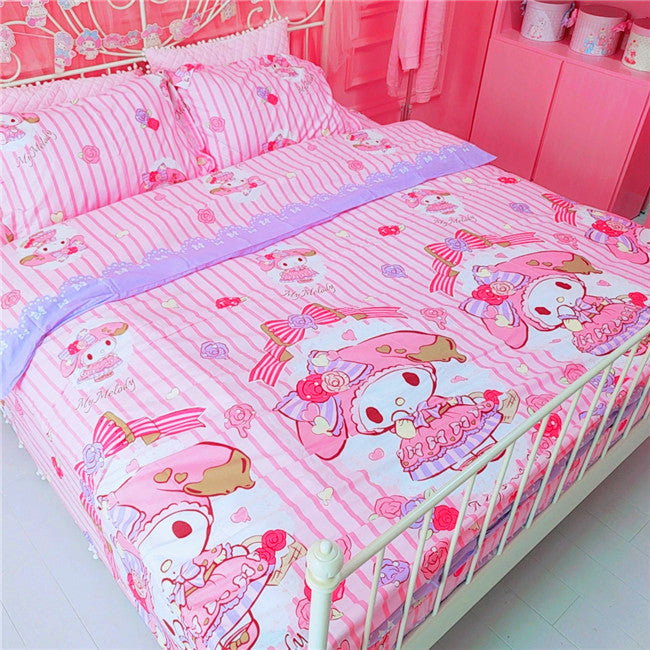 Pink Melody Bedding Set PN1016