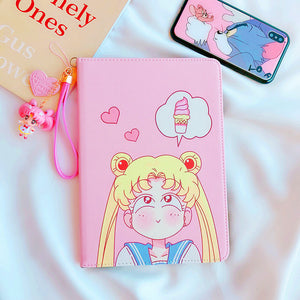 Sailormoon Usagi Ipad Case For Mini1/2/3/Mini4/Air1/2/2018new PN0617