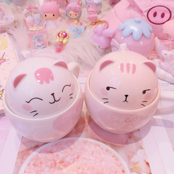 Kawaii Cats Lover Water Cups PN1058