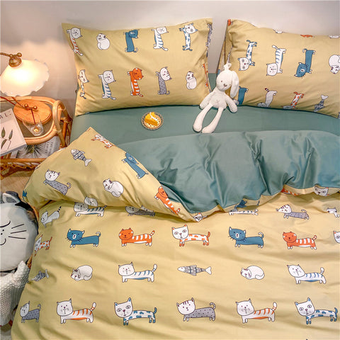 Lovely Cats Bedding Set PN2851