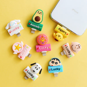 Sakura And Cinnamoroll Earphone Wire Adapter For Iphone PN1775