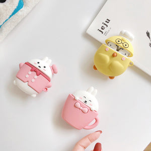 Cartoon Rabbit Airpods Case For Iphone PN2251