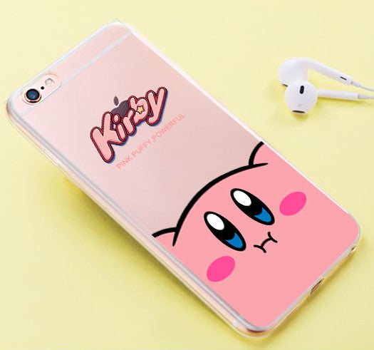 Cute Kirby Phone Case for iphone 6/6s/6plus/7/7plus/8/8P/X/XS/XR/XS Max PN1820