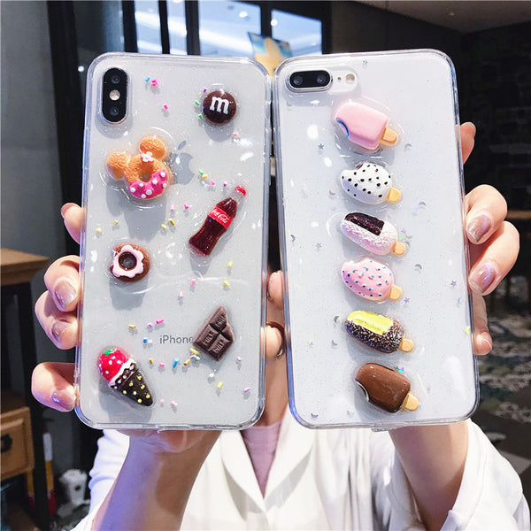 Sweet Foods Phone Case for iphone 6/6s/6plus/7/7plus/8/8P/X/XS/XR/XS Max PN2514