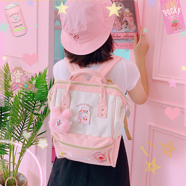 Kawaii Fruits Milk Backpack PN1949