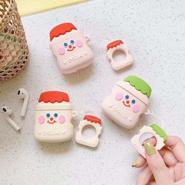 Milk Airpods Case For Iphone PN1515