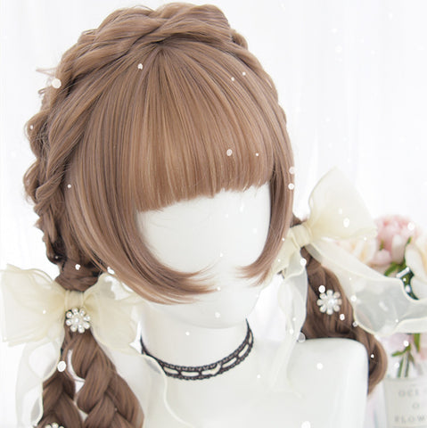 Fashion Lolita Brown Pastel Wig PN1923