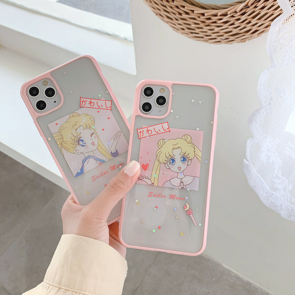 Lovely Girl Phone Case for iphone 7/7plus/8/8P/X/XS/XR/XS Max/11/11pro/11pro max PN2689