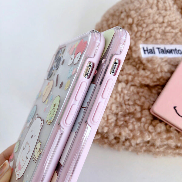 Sumikkogurashi Phone Case for iphone 6/6s/6plus/7/7plus/8/8P/X/Xs/XR/Xs Max/11/11pro/11pro max PN2243