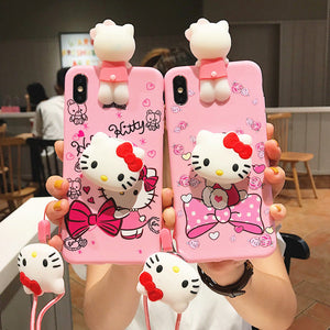 Cat Phone Case for iphone 6/6s/6plus/7/7plus/8/8P/X/XS/XR/XS Max/11/11pro/11pro max PN2182