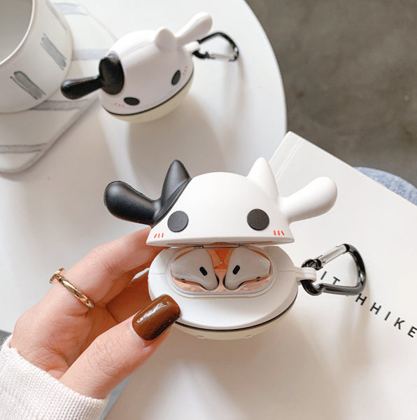 Lovely Cow Airpods Case For Iphone PN1483