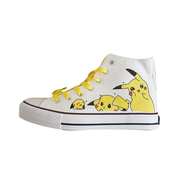 Lovely Pikachu Canvas Shoes And Socks PN2288