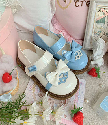 Lovely Lolita Cat Paws Shoes PN3798