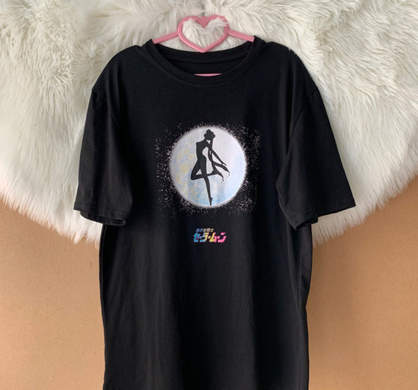 Black Sailormoon Tshirt PN1317