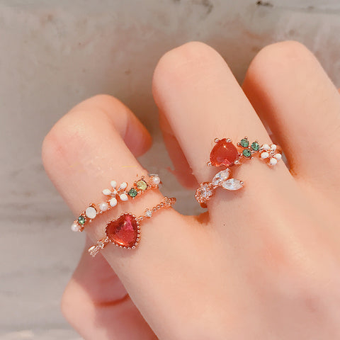 Cute Heart Ring PN3801