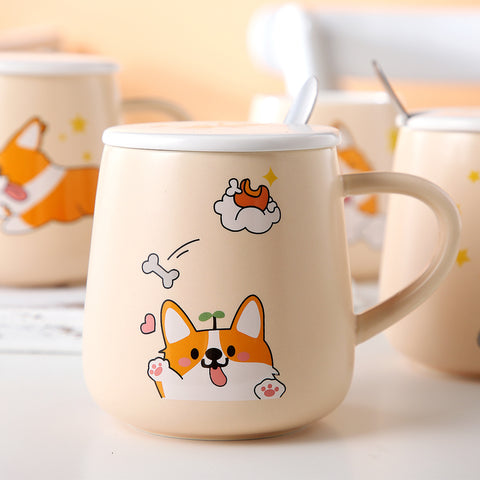 Lovely Corgi Mug Cups PN3586