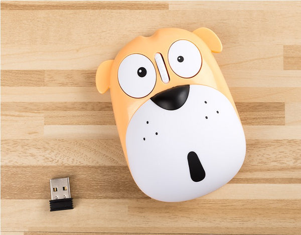 Kawaii Dog Wireless Mouse PN1277
