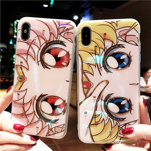 Shining Usagi Phone Case for iphone 6/6s/6plus/7/7plus/8/8P/X/XS/XR/XS Max/11/11pro/11promax PN1147