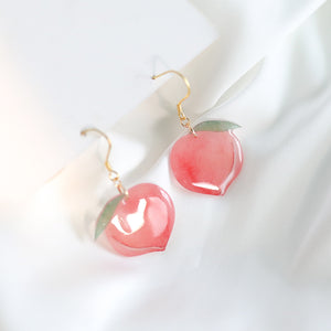 Pink Peaches Earrings/Clips PN1980