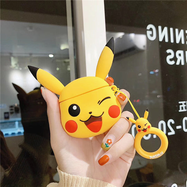Smile Pikachu Airpods Case For Iphone PN1849