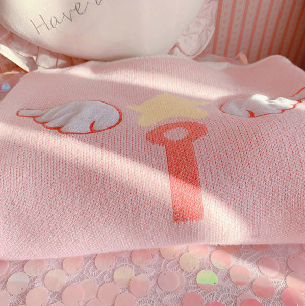 Kawaii Sakura Wings Sweater PN2053