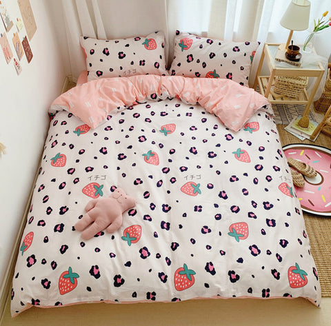 Fashion Strawberry Bedding Set PN2592