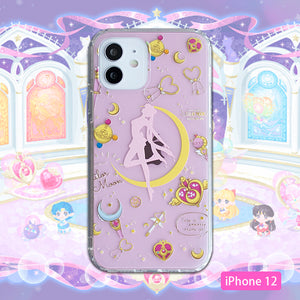 Kawaii Sailormoon Phone Case for iphone 7/7plus/8/8P/X/XS/XR/XS Max/11/11pro/11pro max/12/12pro/12pro max PN3392