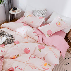 Sweet Peach Bedding Set PN2566