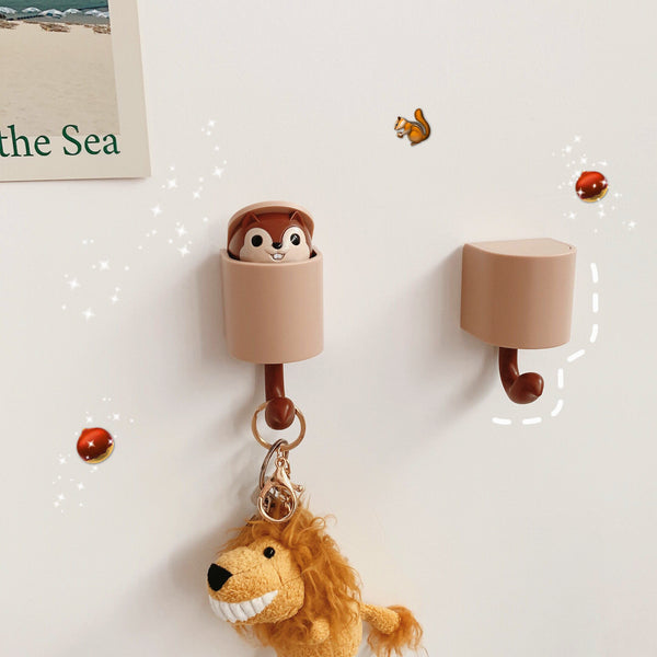 Cute Squirrel Hooks PN1242