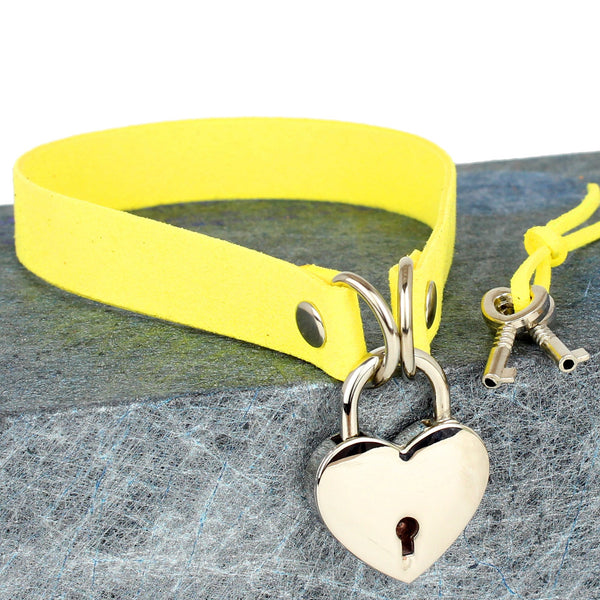 Fashion Lock Heart Choker PN1404