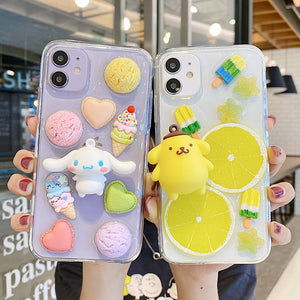 Lovely Dog Phone Case for iphone 6/6s/6plus/7/7plus/8/8P/X/XS/XR/XS Max/11/11pro/11pro max/12/12pro/12pro max PN3560