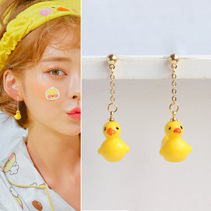 Cute Duck Earrings/Clips PN3166