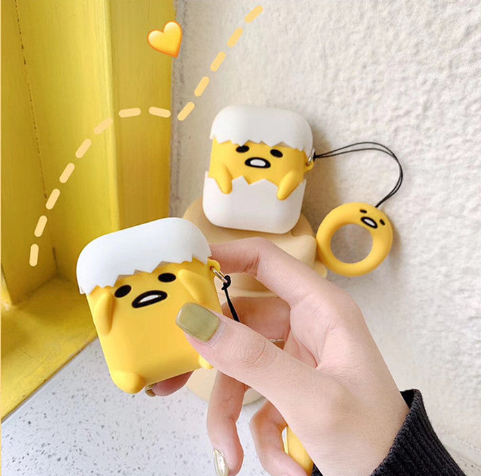 Gudetama Airpods Case For Iphone PN1419