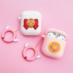 Sailormoon Luna Airpods Case For Iphone PN1256